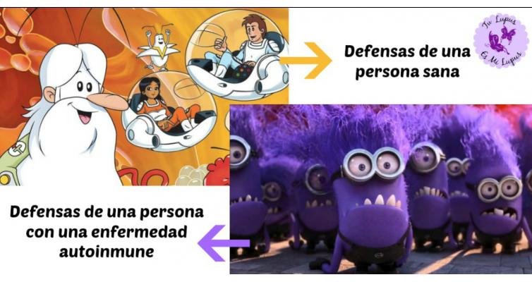 El sistema inmune: ¿Por quémis defensas me atacan