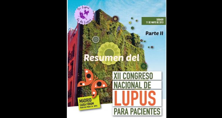 Resumen del congreso nacional de lupus II