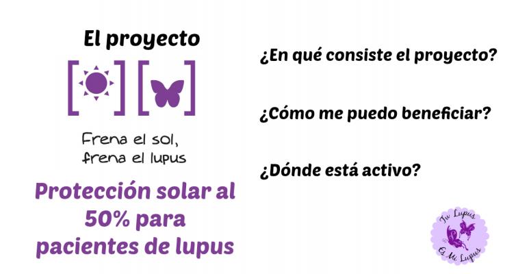 Proyecto Frena el Sol, Frena el Lupus
