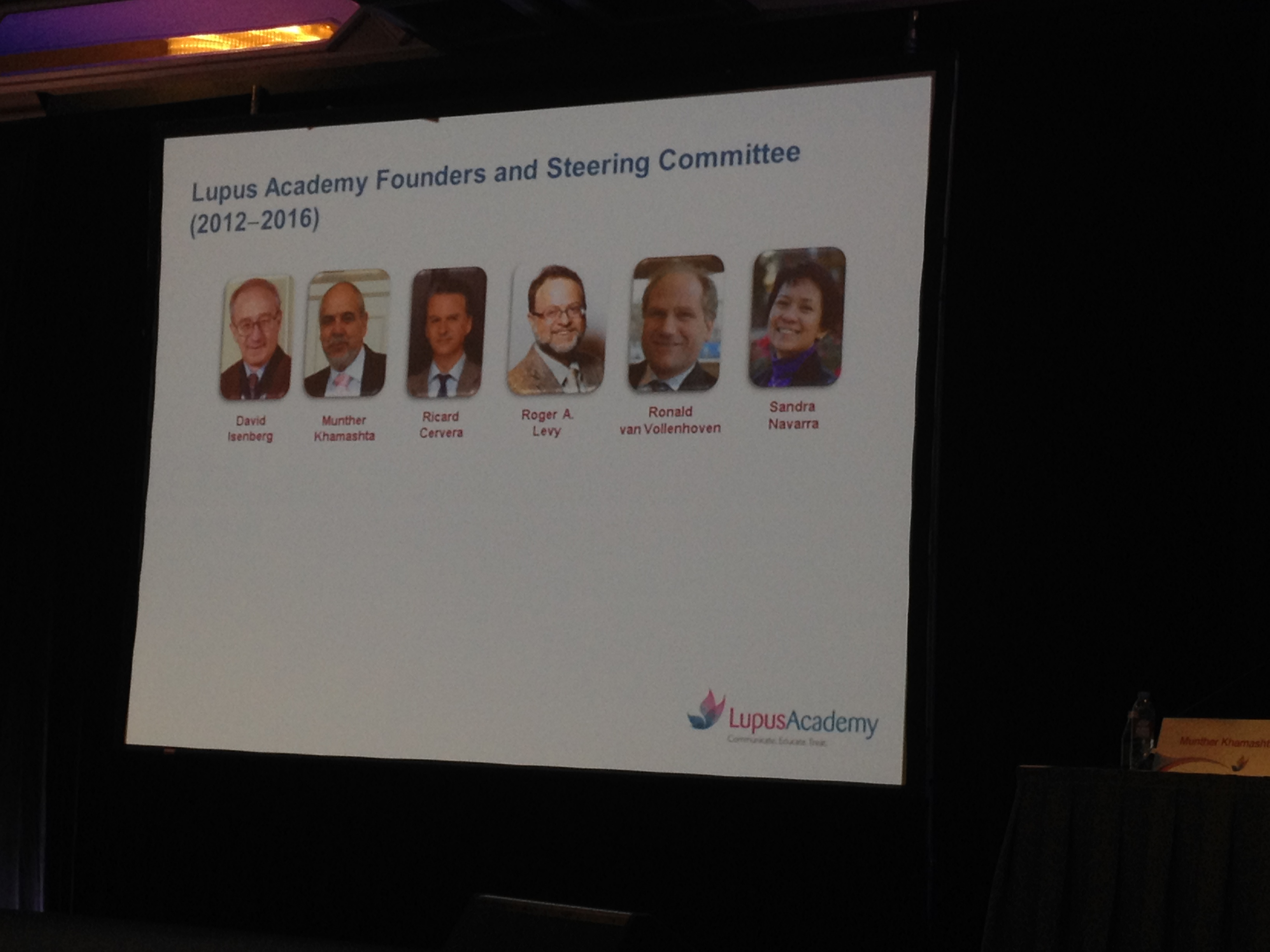 Lupus Academy founders
