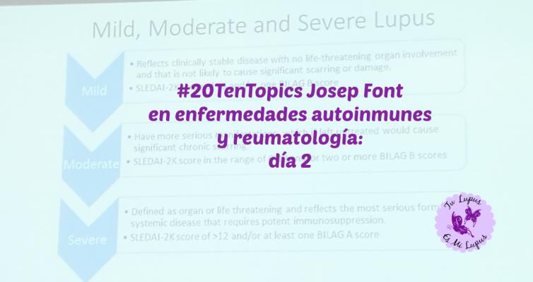 #20TenTopicsBCN Josep Font en EAS y reumatologia: día 2