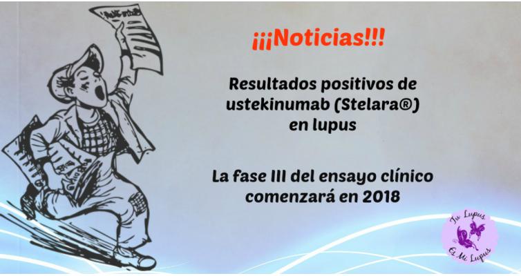 2018.02_Resultados positivos de ustekinumab en lupus